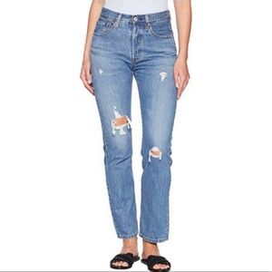 NEW! Levi's 501 original high rise straight leg